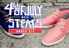 Shop 4th of July Steals: Under $75