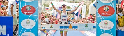 Van Lierde and Ellis Win Ironman France With New Course Records