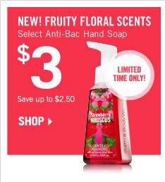Select Anti-Bac Hand Soap – $3