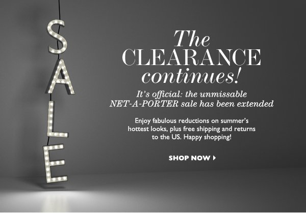 SALE EXTENSION. SHOP NOW