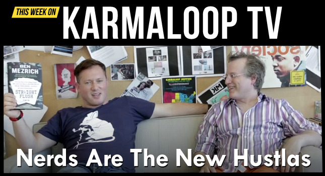 Greg Selkoe, CEO of Karmaloop sits down with New York Times Best Selling Author Ben Mezrich