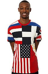 The Flags Tee in Multi
