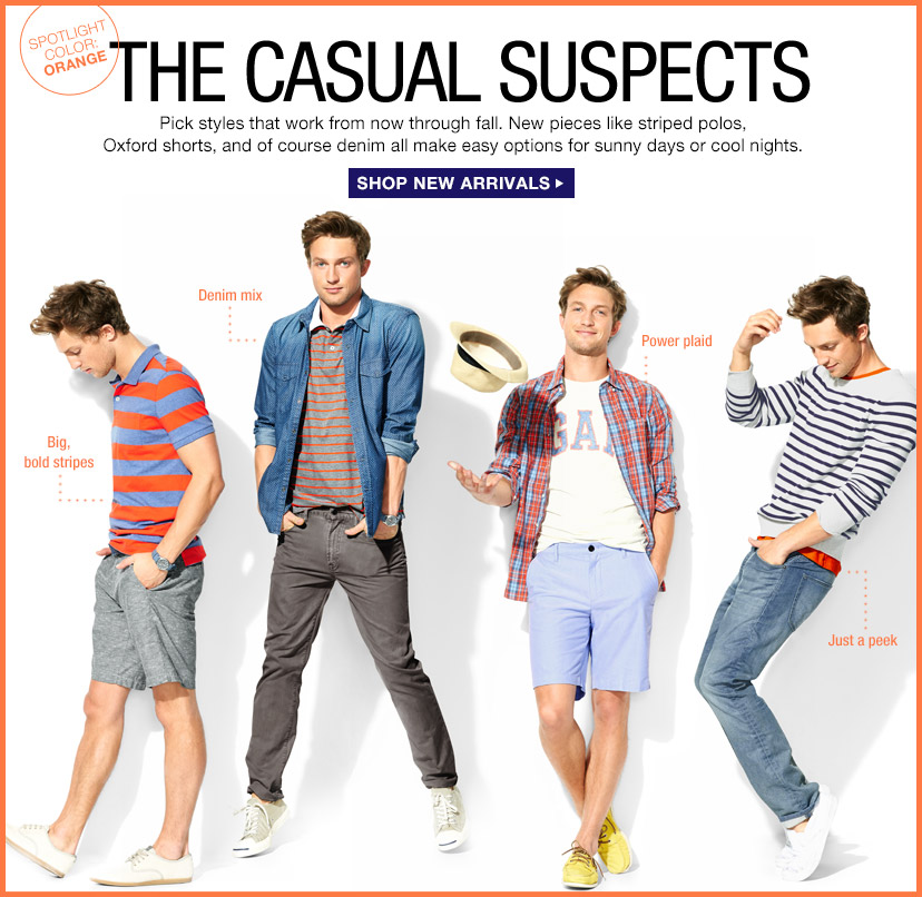 THE CASUAL SUSPECTS | SHOP NEW ARRIVALS