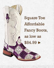 Women Square Toe Affordable Fancy Boots on Sale