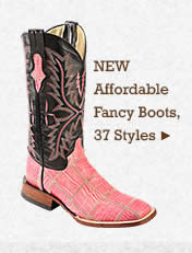 Womens New Affordable Fancy Boots on Sale