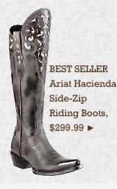 Womens Ariat Hacienda Riding Boots on Sale
