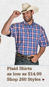 Mens Plaid Shirts on Sale