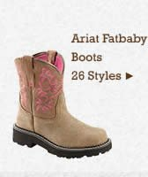 Womens Ariat Fatbaby Boots on Sale