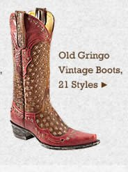 Womens Old Gringo Vintage Boots on Sale