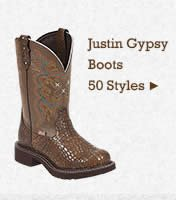 Womens Justin Gypsy Boots on Sale