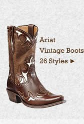 Womens Ariat Vintage Boots on Sale