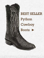 Mens Python Cowboy Boots on Sale