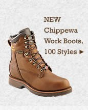 Mens Chippewa Work Boots on Sale