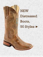 Womens New Distressed Boots on Sale