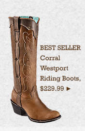 Womens Corral Westport Riding Boots on Sale