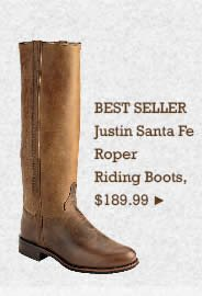 Womens Justin Santa Fe Riding Boots on Sale