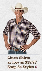Mens Cinch Shirts on Sale