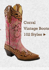 Womens Corral Vintage Boots on Sale