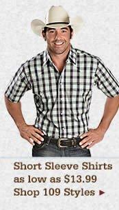 Mens Short Sleeve Shirts on Sale