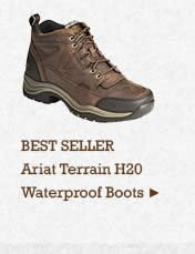 Mens Ariat Terrain H20 Boots on Sale