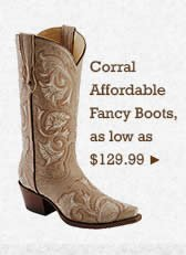 Womens Corral Affordable Fancy Boots on Sale