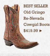 Womens Old Gringo ReNevada Boots on Sale
