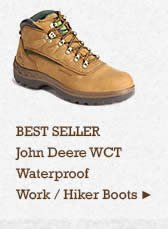 Mens John Deere Hiker Boots on Sale