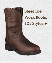 Mens Steel Toe Work Boots on Sale