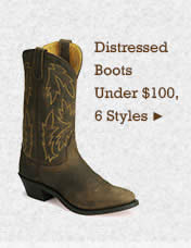 Womens Distressed Boots Under 100 on Sale