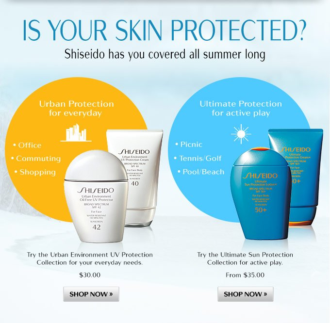 Is Your Skin Protected?