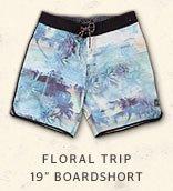 FLORAL TRIP 19 BOARDSHORT