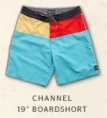 CHANNEL 19 BOARDSHORT