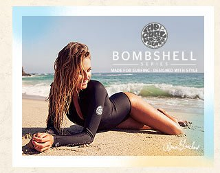 Bombshell Series. Made For Surfing - Designed With Style - Alana Blanchard - Shop Now