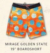 MIRAGE GOLDEN STATE 19 BOARDSHORT