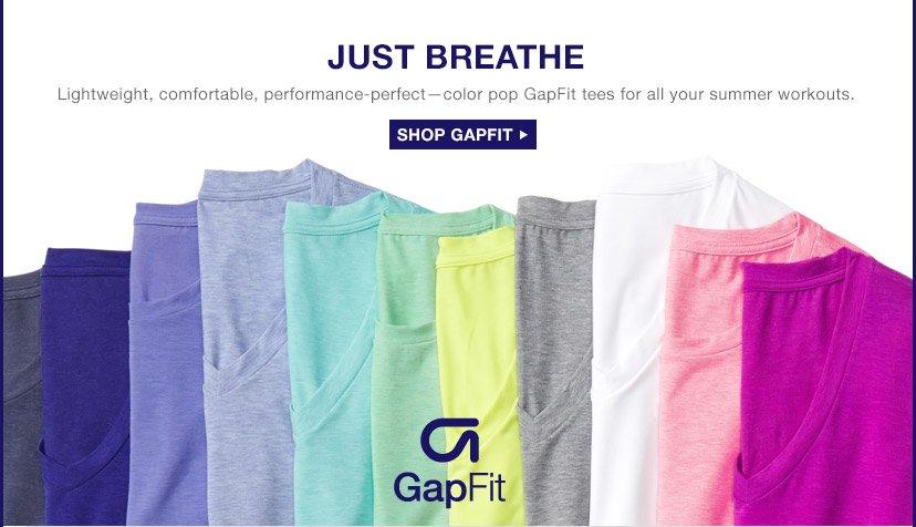 JUST BREATHE | SHOP GAPFIT