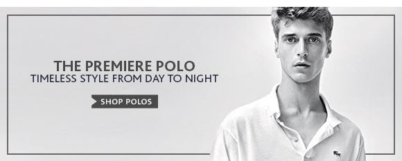 The Premiere Polo. Timeless Style From Day To Night