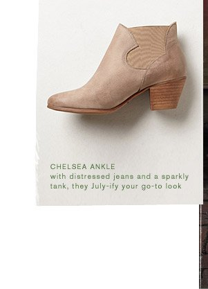 Shop the Chelsea Ankle bootie.