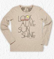 Women's Look Alive Sunshine Creamy Tee