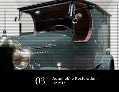 Automobile Restoration: Unic L1