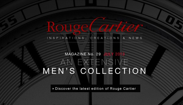 AN EXTENSIVE MEN'S COLLECTION - Discover the latest edition of Rouge Cartier