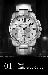 New Calibre de Cartier
