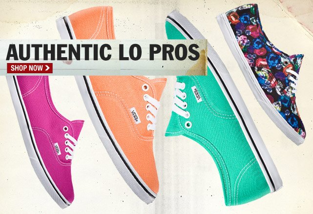 New Authentic Lo Pros