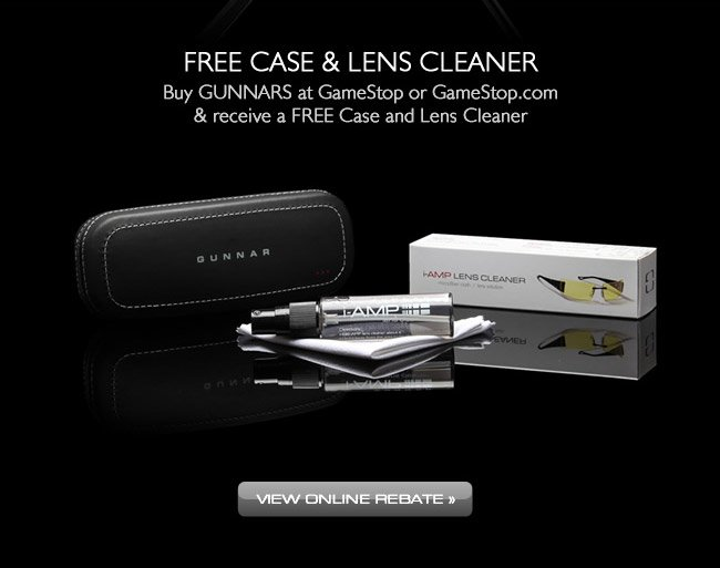 Free Case & Lens Cleaner