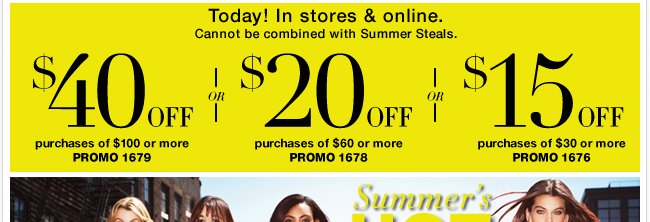 Save $40 with your NEW coupon!