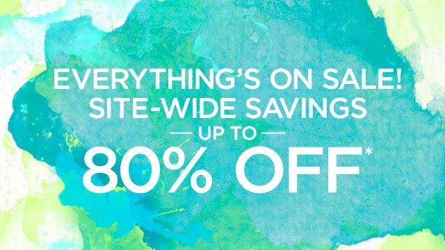 Site-Wide Savings