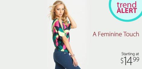 Feminine Flourishes