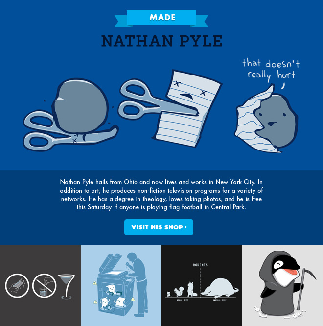 MADE - Nathan Pyle - Visit his shop