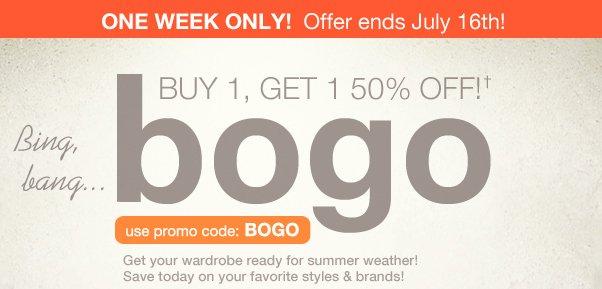 BIG Deal: BOGO 50% Off!