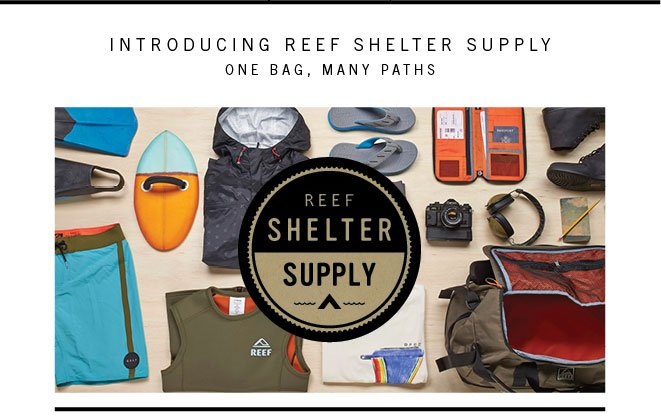Introducing Shelter Supply | Reef's One Bag Travel Philosophy