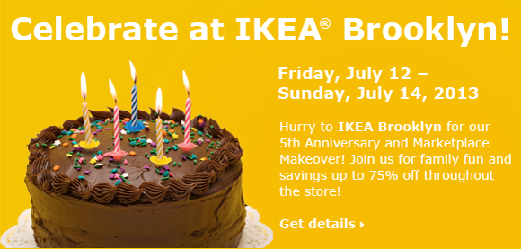 Celebrate at IKEA Brooklyn!